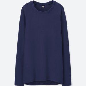 ヒートテックストレッチフリースTシャツ