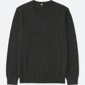 ユニクロ|カシミヤクルーネックセーター