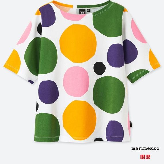 ユニクロ マリメッコ Tシャツ